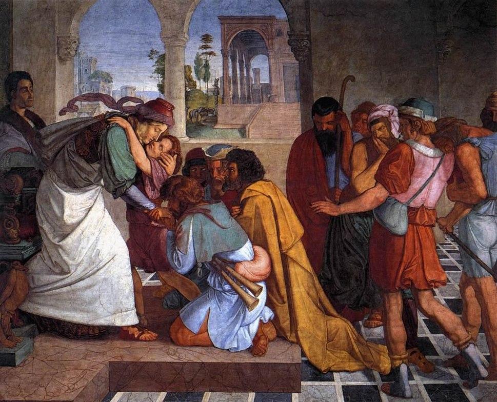 Peter von Cornelius - The Recognition of Joseph by his Brothers - WGA05272
