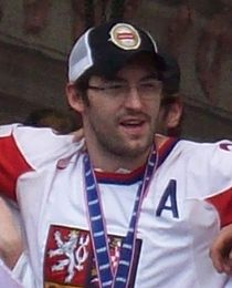 Petr Čáslava, Czech ice hockey team 2010.jpg