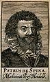 Petrus de Spina. Line engraving, 1688. Wellcome V0005575.jpg