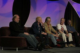 Star Trek III: The Search for Spock - Image: Phil Tippett, Robert Watts, Richard Edlund, Ben Burtt and Ken Ralston