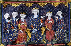 Painting of Philip V and family