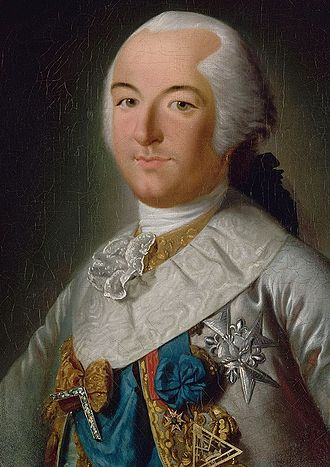 Louis Philippe II, Duke of Orléans - Louis Philippe d'Orléans with the insignia of the grand master of the Grand Orient de France, the governing body of French freemasonry.