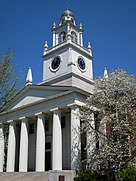Phillips Academy, Andover, MA - Samuel Phillips Hall detail.JPG