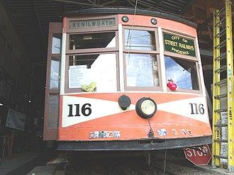 Phoenix Street Railway - Image: Phoenix Phoenix Trolley Museum Trolley Car 116 2