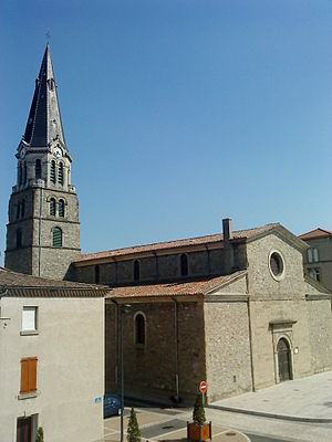 Tain-l'Hermitage - Church of St. Vincent