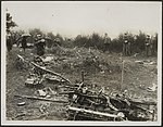 Photo shows general view of the wreckage, Bestanddeelnr 158-2571.jpg