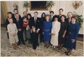 Photograph of 1985 Inaugural Family Photo, (from left to right) Bess Davis, Maureen Reagan, Dennis Revell, Michael... - NARA - 198560.tif