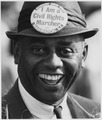 Photograph of a Demonstrator at the Civil Rights March on Washington - NARA - 542029.tif