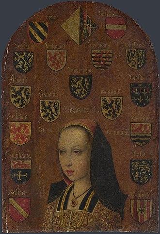 Pieter van Coninxloo - Image: Pieter van Coninxloo Margaret of Austria NG 2613.2