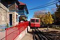 Pikes-Peak-Cog-Railway Manitou-Springs Train 2012-10-21.JPG
