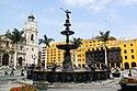 Pileta de la Plaza mayor de Lima.jpg