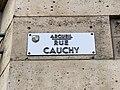 Plaque rue Cauchy Arcueil 1.jpg