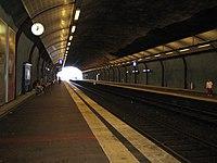 Platform 1 & 2 at Malminkartano railway station, Helsinki.jpg