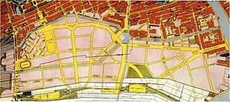 Plan Zuid - Amsterdam Zuid in 1922.