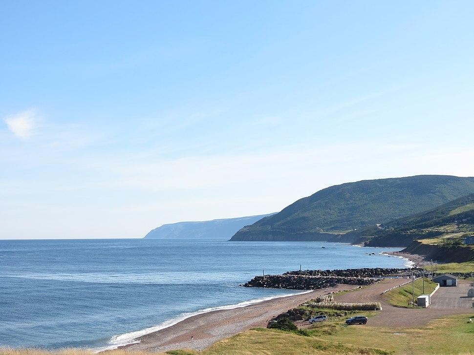 Pleasant bay shoreline