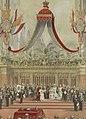 Plechtige Inhuldiging van H.M. Koningin Wilhelmina in de Nieuwe Kerk te Amsterdam (cropped).jpg