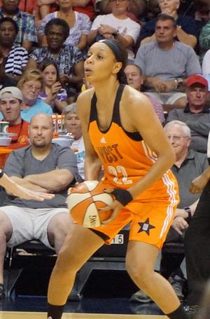 Plenette Pierson - Pierson during the 2015 WNBA All Star game