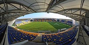 Ilie Oană Stadium - Image: Ploiești Stadionul Ilie Oană 4