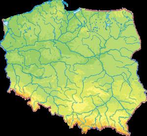 Lenkijos geografija – Vikipedija