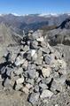 Pointe de Pécé summit cairn.png