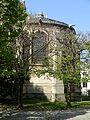 Poissy (78), collégiale Notre-Dame, chœur, vue depuis le sud.jpg