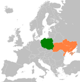 Poland Ukraine locator (Crimea disputed).png