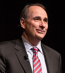 "Political strategist David Axelrod joined Friends of the LBJ Library members to speak about his memoir, ""Believer- My Forty Years in Politics,"" at the LBJ Presidential Library (cropped).jpg"