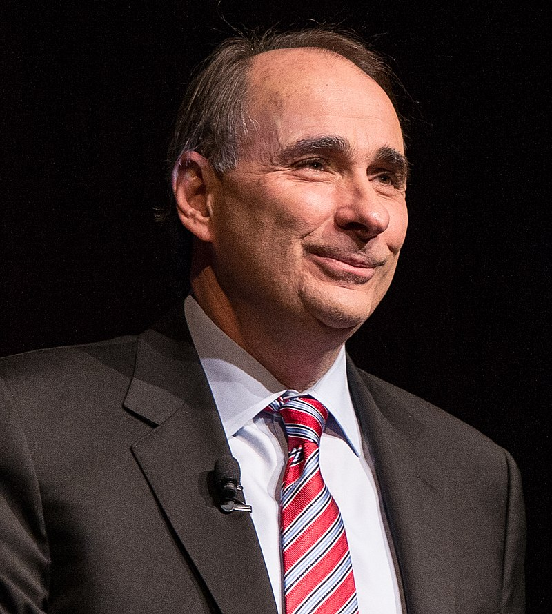 Political strategist David Axelrod joined Friends of the LBJ Library members to speak about his memoir, %22Believer- My Forty Years in Politics,%22 at the LBJ Presidential Library (cropped).jpg