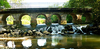Aubertin - Bridge at Goua de Labat