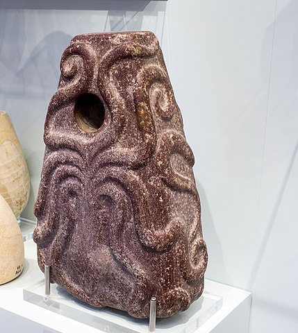 Minoan octopus stone weight
