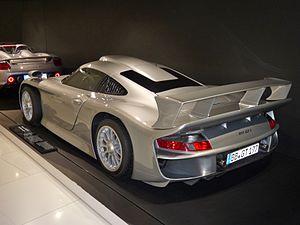 Porsche 911 GT1 - 1997 911 GT1 rear view