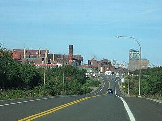 Port-Cartier - Port Cartier Mill