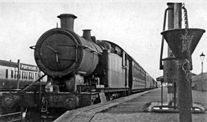 Porthcawl - The former Porthcawl railway station in 1946