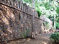 Portion of the City Wall of Shahjahanabad1.JPG