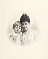 Porträtt. Ellen och Rolf de Maré. 1890 - Hallwylska museet - 87317.tif
