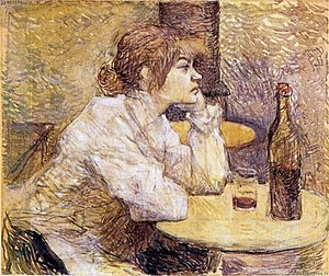 "La buveuse (""The Drinker"")"