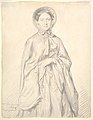 Portrait of a Young Woman Wearing a Cloak and Bonnet MET DP823928.jpg