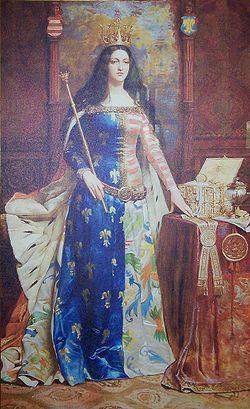 Portret Królowej Jadwigi w ZSP 6 Piotrków Tryb by Ron.jpg