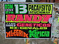 Poster advertising an exciting musical act in Ayacucho, Peru (7271273942).jpg