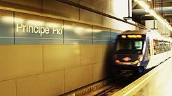 Príncipe Pío (Madrid) Línea 10 de metro (1).jpg