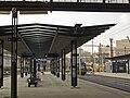 Praha hlavní nádraží, prodloužené nástupiště 02.jpg