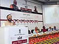 Prakash Javadekar addressing at the release of India Rankings 2018 for Higher Educational Institutions and presentation of awards under the National Institutional Ranking Framework (NIRF), in New Delhi.jpg