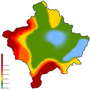 Climate of Kosovo