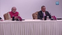 File:President Obama and Prime Minister Modi Participate in a CEO Roundtable in India.webm