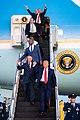 President Trump Departs for South Carolina (49608865143).jpg