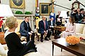 President Trump and the First Lady Visit with the President of Poland and Mrs. Duda (48055474018).jpg