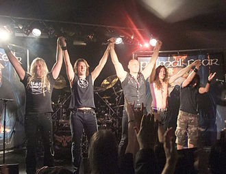Primal Fear (band) - Primal Fear performing live in 2009