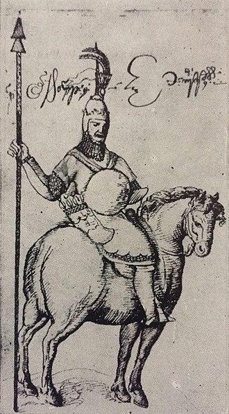 Mamia III Gurieli - Mamia III Gurieli, a sketch from Teramo Castelli's travelogue.