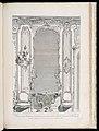 Print, Projet d'un Trumeau de glace pour un grand cabinet fait pour le Portugal; Projet de trumeau avec variante pour le Portugal, 2nd Plate, 1740 (CH 18222689-2).jpg