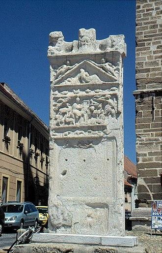 Orpheus Monument - The Orpheus monument was originally a grave marker of Marcus Valerius Verus, the mayor of Poetovio in the 2nd century AD